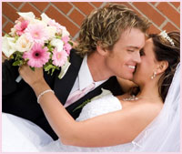 Beautiful Newly Wed Couple - Bride and Groom